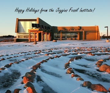 Happy holidays from the Joggins Fossil Institute!
