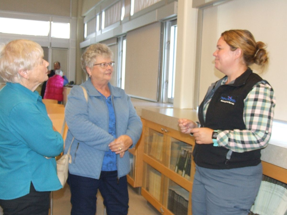 Christie Anne McLellan and Joy Gray chat with Amy Tizzard, P.Eng