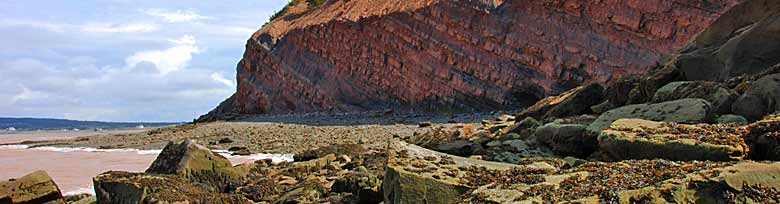 Joggins Fossil Cliffs, Joggins, Nova Scotia